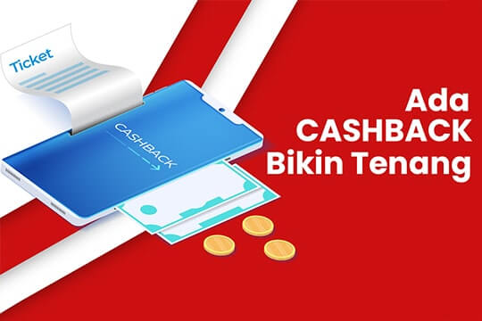 Cashback online ticketing jogjakita