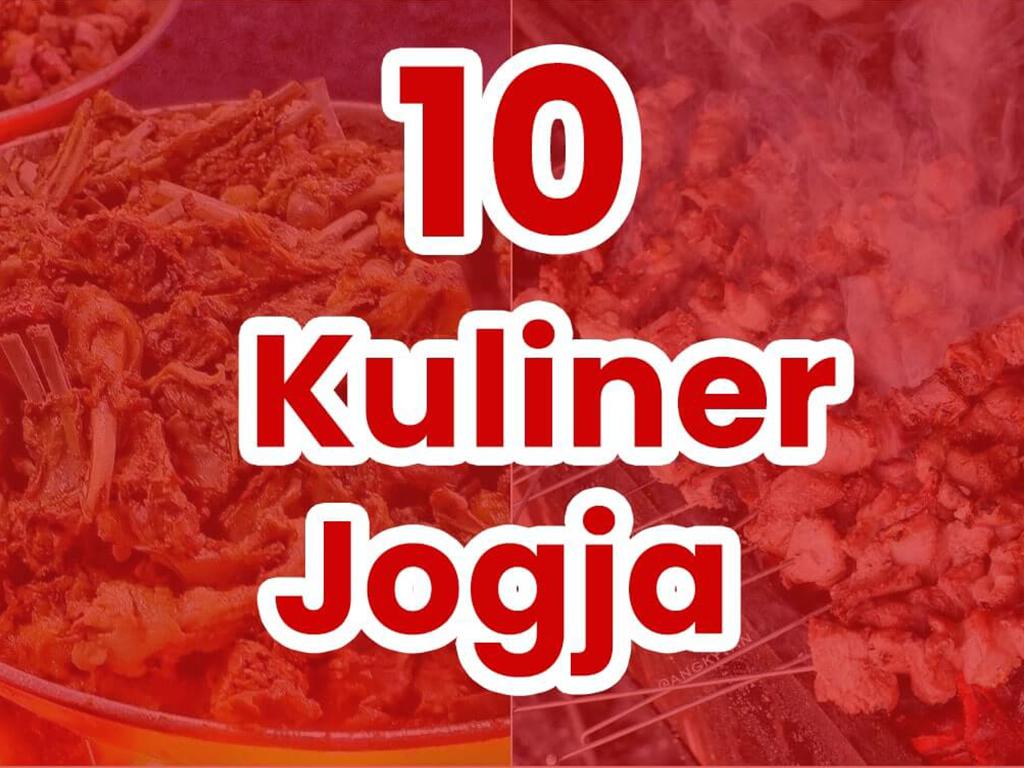 KulinerJogja Top 10 Favorit Wisatawan