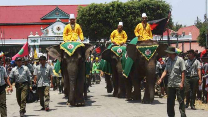 pasukan gajah keraton wisata jogja dekat malioboro