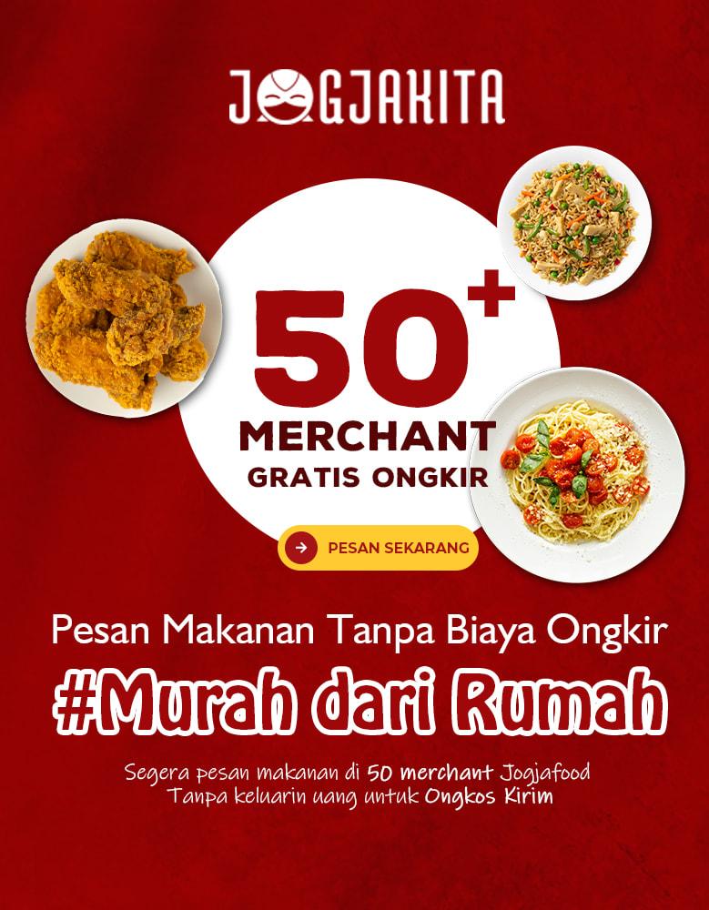 Promo Gratis Ongkir Jogja food