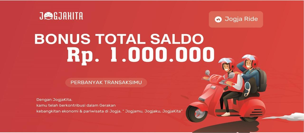 Bonus Total Saldo 1.000.000