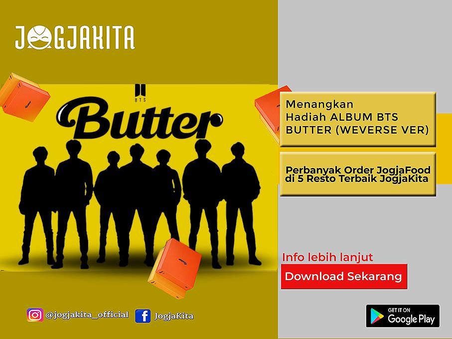 Menangkan Hadiah Album BTS BUTTER