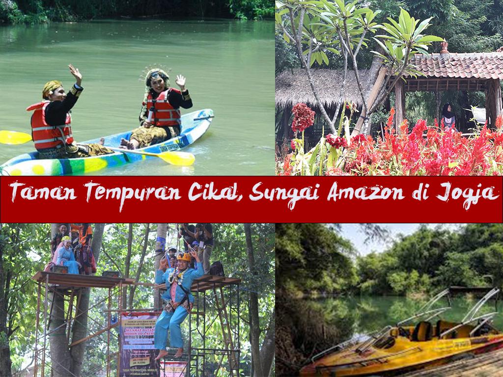 Taman Tempuran Cikal, Sungai Amazon di Jogja